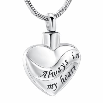 Ashanger Zilverkleurige Hart Always In My Heart RVS kopen