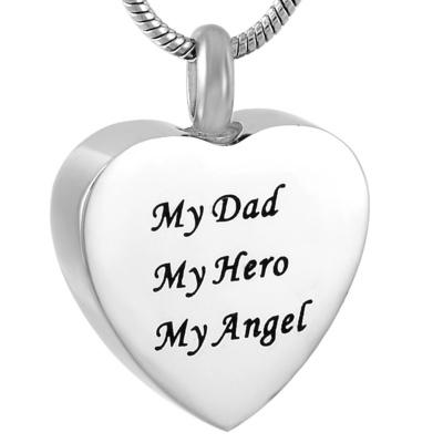 Ashanger Hartje My Dad My Hero My Angel RVS kopen