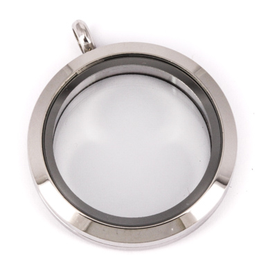 Memory Locket Medaillon TWIST 30mm (RVS/Edelstaal) kopen