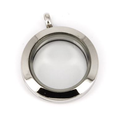 Memory Locket Medaillon TWIST Small 25 mm (RVS/Edelstaal) kopen