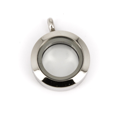 Memory Locket Medaillon Extra Small (20 mm RVS/Edelstaal) kopen