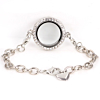 Memory Locket Armband Kristal 25 mm