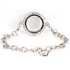 Memory Locket Armband Kristal 25 mm