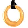 As Hanger Eternity Cirkel Goudkleurig RVS (incl ketting)