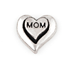 Floating Charm 3D Hart Mom