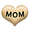 Floating Charm Hart Mom Goudkleurig