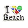 Floating Charm I love Beach