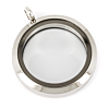 Memory Locket Medaillon 30mm (RVS/Edelstaal)