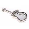 Floating Locket Medaillon Gitaar
