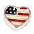 Floating Charm Amerikaanse Vlag kopen