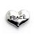 Floating Charm Hart Peace kopen