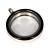 Memory Locket Medaillon TWIST Zwart 30mm (RVS/Edelstaal) kopen