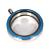 Memory Locket Medaillon Twist Blauw 30mm (RVS/Edelstaal) kopen