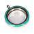 Memory Locket Medaillon TWIST Turquoise 30mm (RVS/Edelstaal) kopen