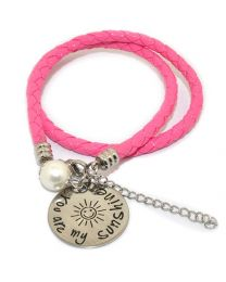 Pinkiezz Armband Roze - You Are My Sunshine  -
