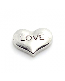 Floating Charm Hart Love -