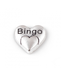 Floating Charm 3D Hart Bingo -