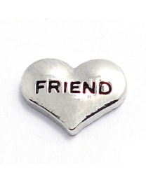 Floating Charm Hart Friend -