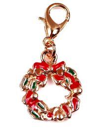 Dangle Kerstkrans Goud -