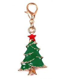 Dangle Kerstboom Goud -