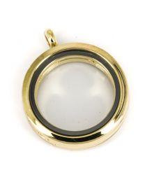 Memory Locket Medaillon Goud 30mm -