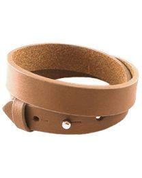 Cuoio Lederen Armband Dubbel Breed Cognac Brown -