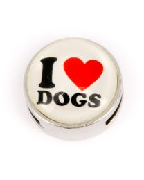 Cuoio Slider I Love Dogs Wit -