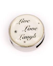 Cuoio Slider Live Love Laugh -