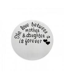 Munt met Fotogravure (The Love Between Mother & Daughter Is Forever) -