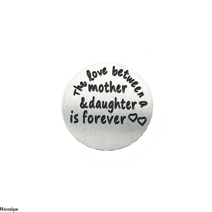 Munt The Love Between Mother Daughter Is Forever 16mm Kopen