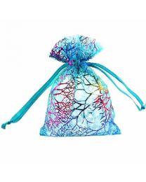 Cadeau Verpakking Klein Blauw Kleurrijk -
