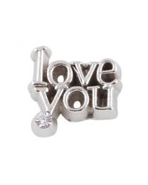 Floating Charm Love You -