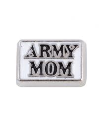 Floating Charm Army Mom -