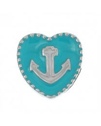 Floating Charm Hart Anker -