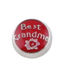 Floating Charm Best Grandma -