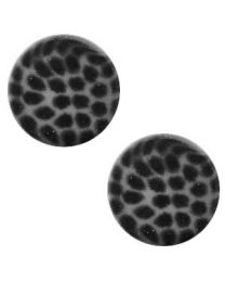 Cuoio Slider - Elements Leopard Silver Night 12mm -