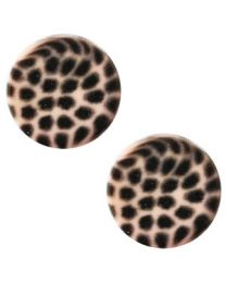 Cuoio Slider - Elements Leopard Light Vintage Rose 12mm -