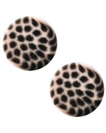 Cuoio Slider - Elements Leopard Rosa Pink 12mm -