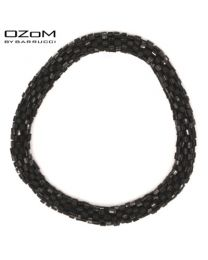 OZOM by Barrucci Roll-On Bracelet Black -
