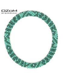 OZOM by Barrucci Roll-On Bracelet Green Mix -