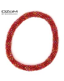 OZOM by Barrucci Roll-On Bracelet Red -