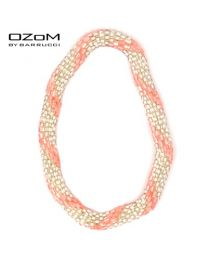 OZOM by Barrucci Roll-On Bracelet Light Pink Silver -