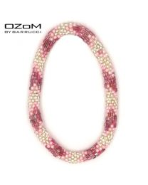 OZOM by Barrucci Roll-On Bracelet Triple Pink -