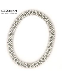 OZOM by Barrucci Roll-On Bracelet Silverwhite -