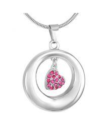 Ashanger Cirkel met Roze Hartje -
