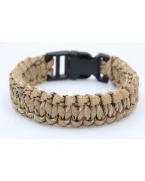 Paracord Mannen Armband Desert -