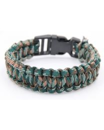 Paracord Herenarmband Mountain -