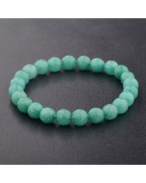 Heren Kralen Armband Natural Stone Turquoise 17-19cm -