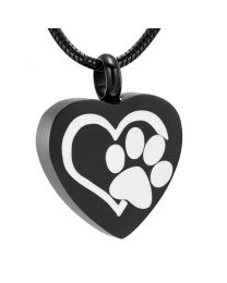 Ashanger Black Heart with White Paw -