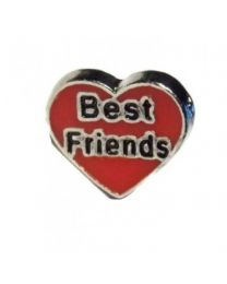 Floating Charm Hart Best Friends -